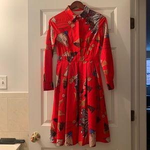 Burryco Floral MIDI Dress